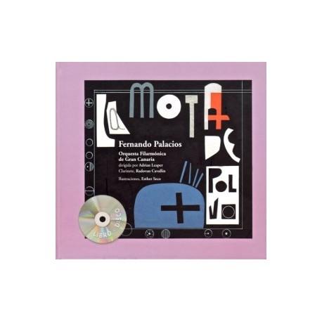 LA MOTA DE POLVO CON CD Agruparte Portada Libro