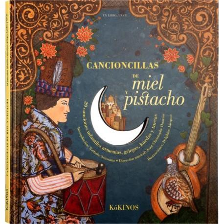 CANCIONCILLAS DE MIEL Y PISTACHO