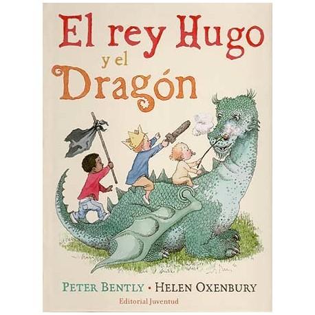 EL REY HUGO Y EL DRAGÓN JUVENTUD Portada Libro