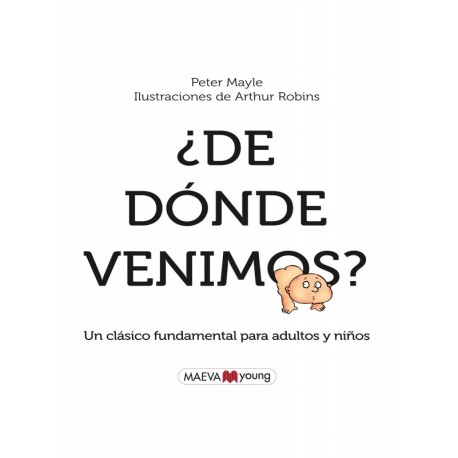 DE DONDE VENIMOS Libro Sobre Sexualidad Para Ninos Destino Portada