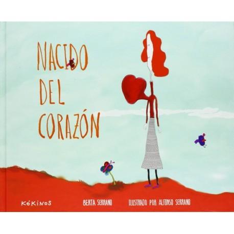 NACIDO DEL CORAZON Kokinos Portada Libro Libro sobre Adopcion