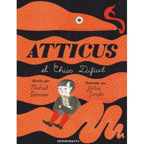 ATTICUS EL CHICO DIFICIL Libro