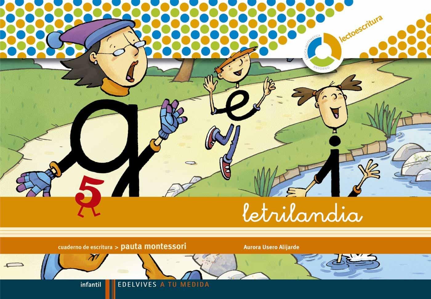 Letrilandia 5 Pauta Montessori Comprar Libro