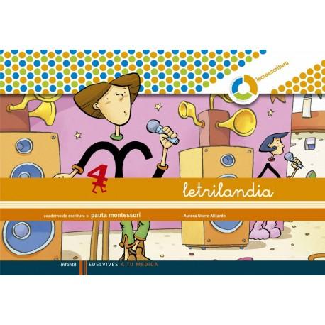 Letrilandia 4 Pauta Montessori Comprar Libro