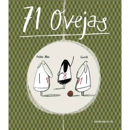 71 OVEJAS Canica Books Portada Libro
