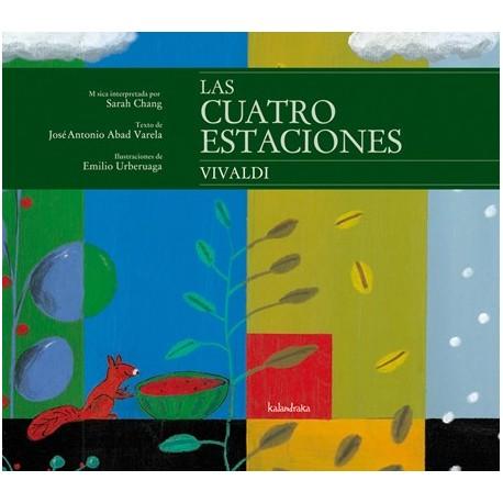LAS CUATRO ESTACIONES VIVALDI CON CD