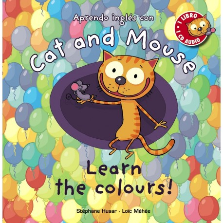 CAT AND MOUSE: LEARN THE COLOURS! CON AUDIO