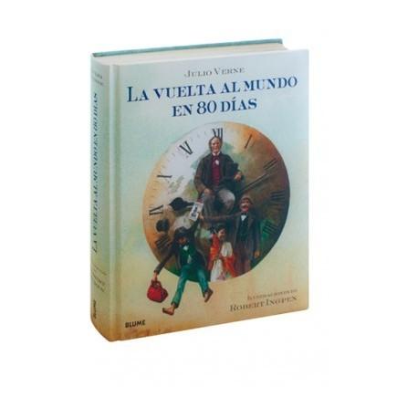 LA VUELTA AL MUNDO EN 80 DIAS Julio Verne Blume Portada Libro