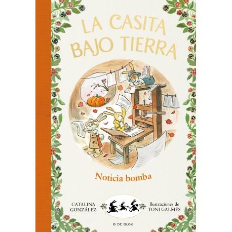 LA CASITA BAJO TIERRA 5 NOTICIA BOMBA
