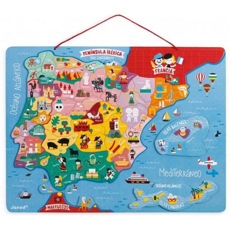 PUZZLE MAGNETICO ESPANA Y PORTUGAL