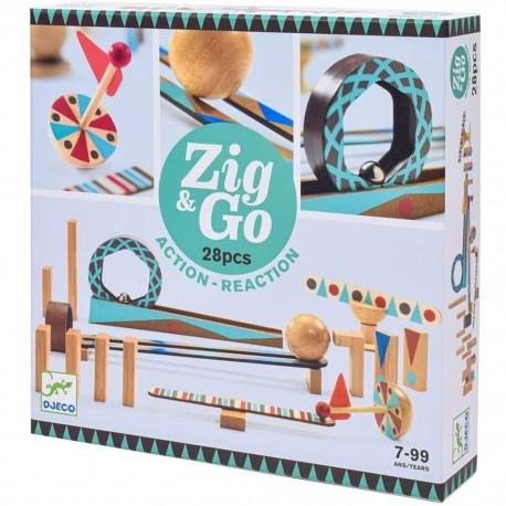 ZIG & ROLL 28 PIEZAS DJECO