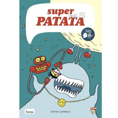 SUPERPATATA 2 Artut Laperla Comic Para Ninos Bang Ediciones Mamut Comic Portada Libro
