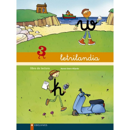 Letrilandia Libro De Lectura 3 De Aurora Usero Comprar Libro