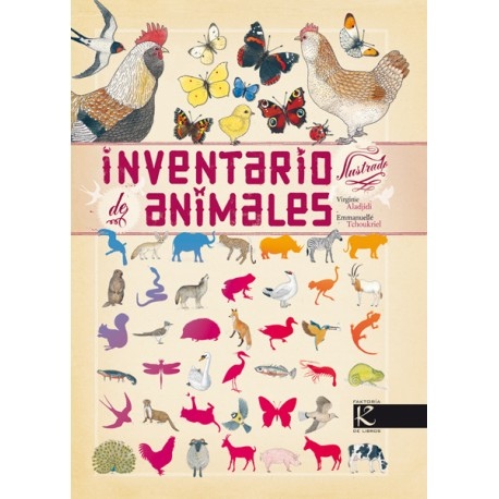 INVENTARIO ILUSTRADO DE ANIMALES Kalandraka