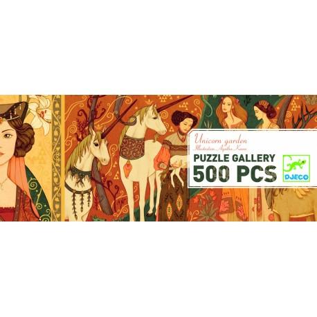 PUZZLE DAMAS DEL UNICORNIO 500 PIEZAS