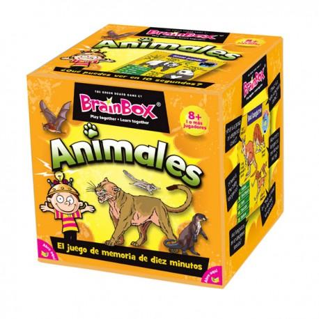 ANIMALES DEL MUNDO Brainbox