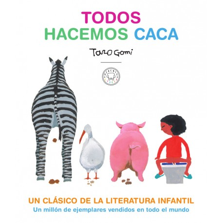 TODOS HACEMOS CACA Libro