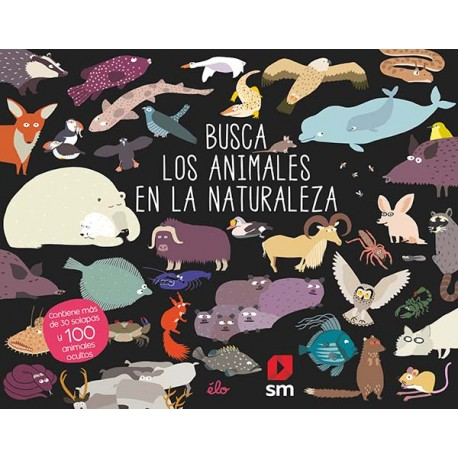 BUSCA LOS ANIMALES EN LA NATURALEZA