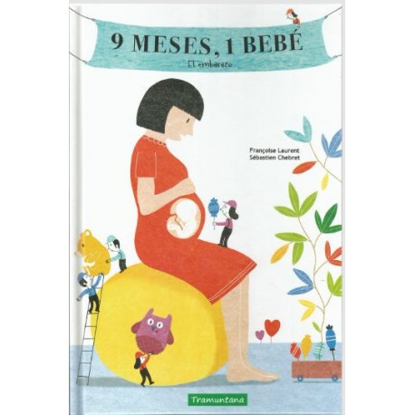 9 MESES 1 BEBE Tramuntana Portada Libro