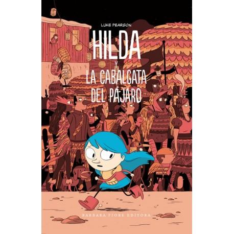 HILDA Y LA CABALGATA DEL PAJARO Barbara Fiore Comic para Ninos  Portada Libro