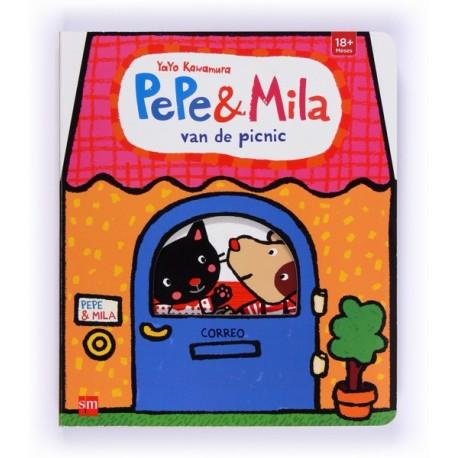 PEPE Y MILA VAN DE PICNIC SM Portada Libro