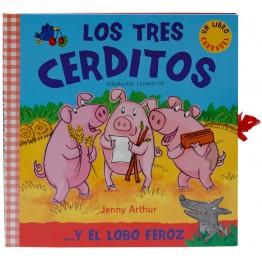 LOS TRES CERDITOS LIBRO CARRUSEL