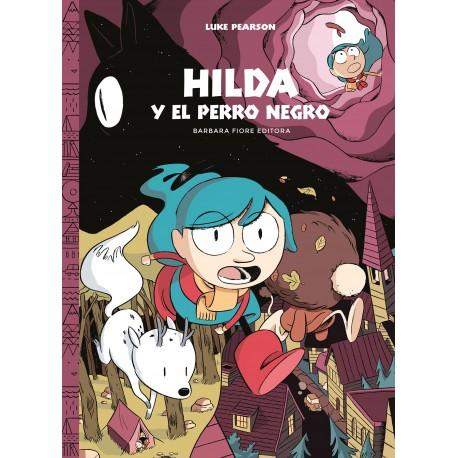 HILDA Y EL PERRO NEGRO HILDA 4 Barbara Fiore Comic Para Ninos Portada Libro