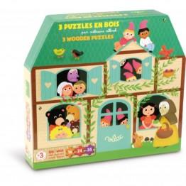 PUZZLES PROGRESIVOS CUENTOS 16, 24 y 35 piezas