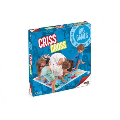 criss cross juego educativo motricidad equilibrio cayro