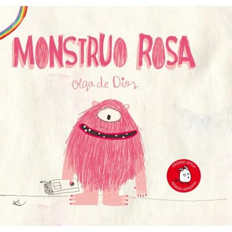 MONSTRUO ROSA OLGA DE DIOS APILA EDICIONES RAYUELAINFANCIA