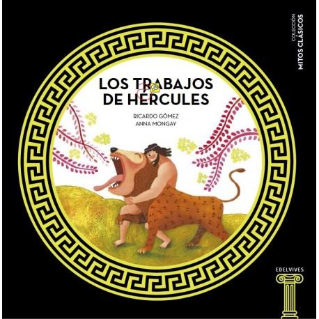 LOS TRABAJOS DE HERCULES Edlevives Portada Libro Mitologia para Ninos