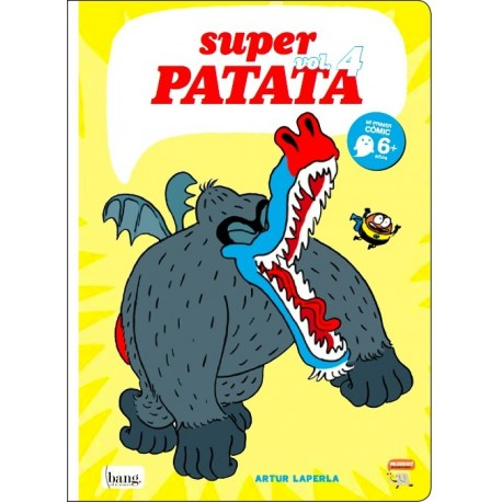 SUPERPATATA 4 Bang Ediciones Mamut Comic Para Ninos Portada Libro