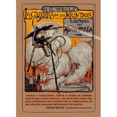 LA GUERRA DE LOS MUNDOS Libros Del Zorro Rojo Portada Libro