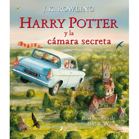 HARRY POTTER Y LA CÁMARA SECRETA ILUSTRADO