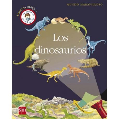 los-dinosaurios-linterna-magica-mundo-maravilloso-sm