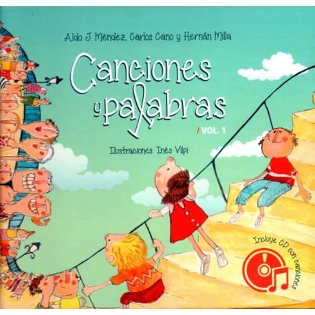 CANCIONES Y PALABRAS CON CD