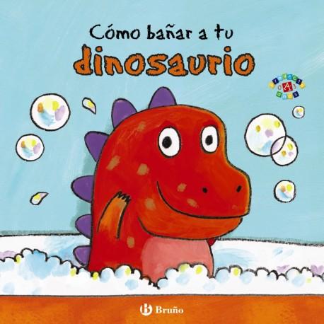 como-banar a tu dinosaurio libros para bebes sobre habitos bruno
