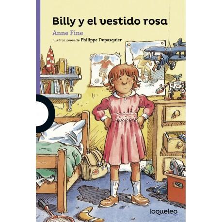 BILLY Y EL VESTIDO ROSA Loqueleo Portada Libro