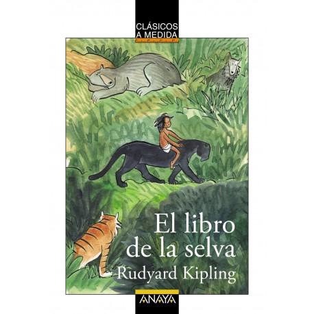 adaptacion el libro de la selva clasicos a medida anaya