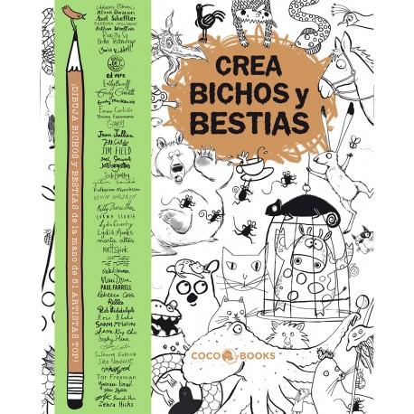 CREA BICHOS Y BESTIAS Coco Books Portada Libro