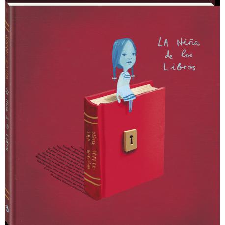 LA NINA DE LOS LIBROS Oliver Jeffers Andana Portada Libro