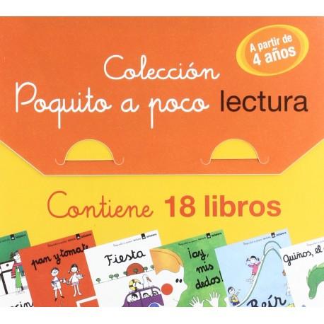 METODO DE LECTURA POQUITO A POCO Coleccion Completa Maletin La Galera