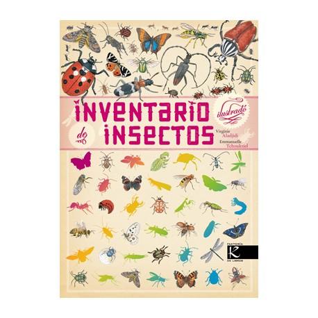 INVENTARIO ILUSTRADO INSECTOS Kalandraka Portada Libro