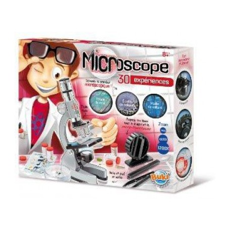 MICROSCOPIO 30 EXPERIMENTOS BUKI