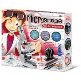 MICROSCOPIO CON 30 EXPERIMENTOS