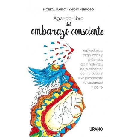 AGENDA LIBRO DEL EMBARAZO CONSCIENTE Urano Portada Libro