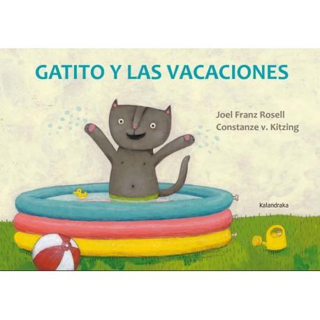 Gatito y las vacaciones Kalandraka Portada Libro