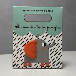 LIBRO TELA ANIMALES DE LA JUNGLA