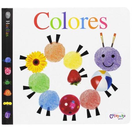 huellas colores catapulta klutz libro para bebes con texturas