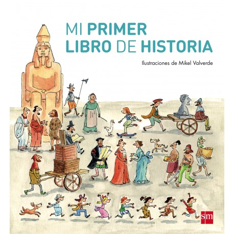 MI PRIMER LIBRO DE HISTORIA SM RAYUELAINFANCIA PORTADA